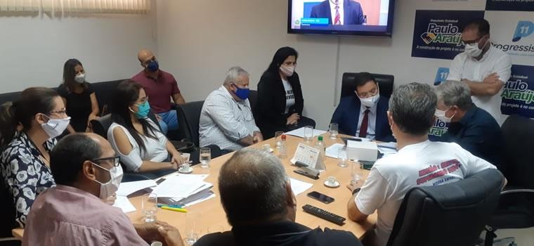 IReforma da Previdência - Sintap/MT e membros do Fórum Sindical se reuniram nesta quarta-feira com deputados