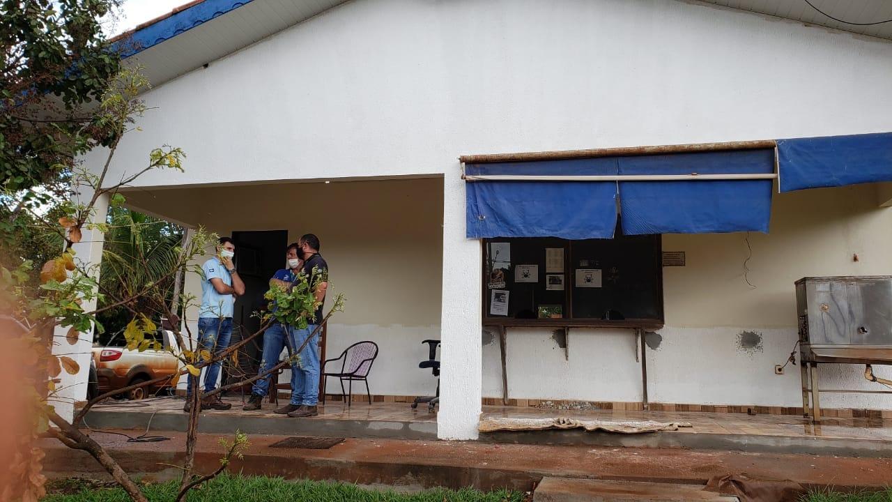 ISintap identifica falta de serviço de limpeza, telefone e Internet no posto fiscal de Vila Rica e cobra direção do Indea