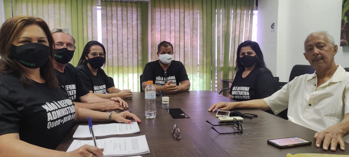 IMovimento do Sintap/MT e servidores em Brasília começa a surtir efeito; Governo está com dificuldade para conseguir votos para aprovação
