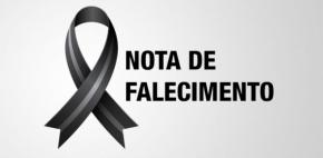 NOTA DE FALECIMENTO – Servidor do Indea/MT