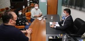 Coordenadores do Fórum Sindical se reúnem com presidente da ALMT Assessoria de Imprensa