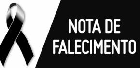 NOTA DE FALECIMENTO – Mãe de servidora