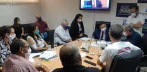 Reforma da Previdência - Sintap/MT e membros do Fórum Sindical se reuniram nesta quarta-feira com deputados
